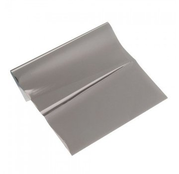 BASTELZUBEHÖR, WERKZEUG UND AUFBEWAHRUNG Metallic foil, 200 x 300 mm, 1 sheet, anthracite