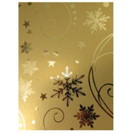 Karten und Scrapbooking Papier, Papier blöcke A4 virkning pap, guld