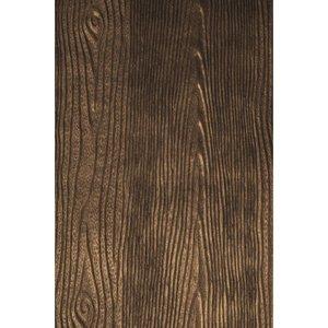 Karten und Scrapbooking Papier, Papier blöcke Metallic reliëf papier: Wood