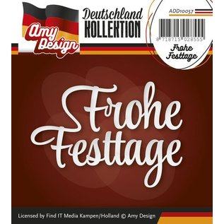 AMY DESIGN AMY DESIGN, Stanzschablonen: Frohe Festtage