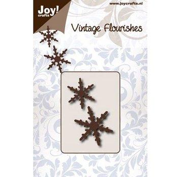 Joy!Crafts / Jeanine´s Art, Hobby Solutions Dies /  Skæring dør: to snekrystaller