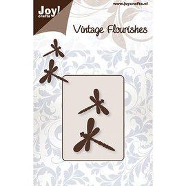 Joy!Crafts / Jeanine´s Art, Hobby Solutions Dies /  Snij en embossing sjablonen: 2 Dragonfly