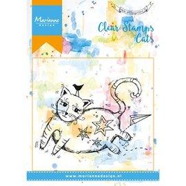 Marianne Design Transparant stempel: Cat
