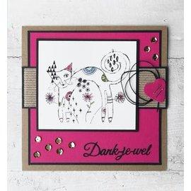 Marianne Design Transparent stamp: Cat