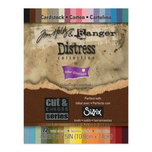 Karten und Scrapbooking Papier, Papier blöcke Tim Holtz Ranger Distress Collection