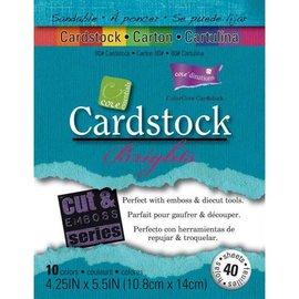 Karten und Scrapbooking Papier, Papier blöcke Conjunto de papel de tarjetas Bright