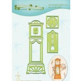 Leane Creatief - Lea'bilities und By Lene Punzonatura e goffratura modello: Grandfather Clock