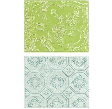 embossing Präge Folder Goffratura cartelle: Free Spirit Florals Set