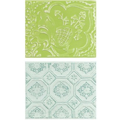 embossing Präge Folder Embossing mappen: Free Spirit Florals Set