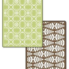 embossing Präge Folder Gofrado carpetas: Conjunto de Navidad de la elegancia