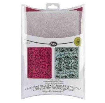 embossing Präge Folder Goffratura cartelle: Bohemian Lace Set