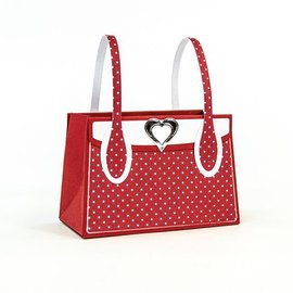 Tonic Studio´s stamping and embossing folder: 3D handbag