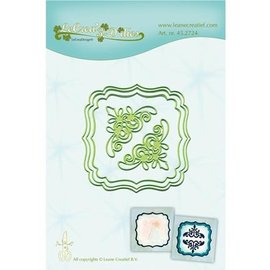 Leane Creatief - Lea'bilities und By Lene Punching and embossing template: 3 frame and 2 corner
