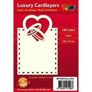 KARTEN und Zubehör / Cards Luksus-kort layout: sæt med 3