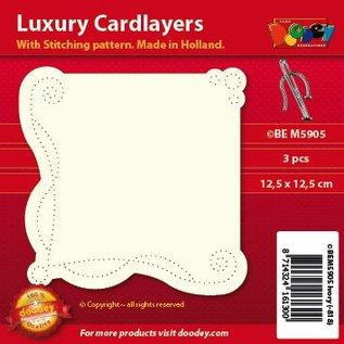 KARTEN und Zubehör / Cards Disposizione di scheda di lusso: set di 3