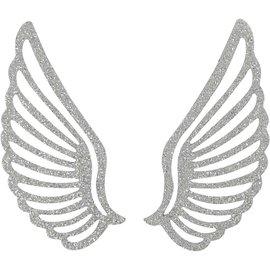 Embellishments / Verzierungen Wing métal, 3 pièces