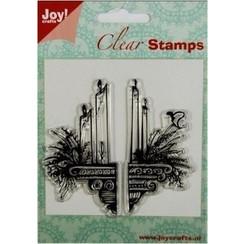 Transparent Stamps: candles decoration