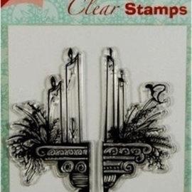 Joy!Crafts / Jeanine´s Art, Hobby Solutions Dies /  Transparent Stempel: Kerzen Dekoration