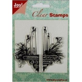 Joy!Crafts / Jeanine´s Art, Hobby Solutions Dies /  I timbri trasparenti: candele decorazione