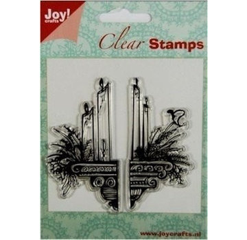 Joy!Crafts / Jeanine´s Art, Hobby Solutions Dies /  Transparent Stamps: candles decoration