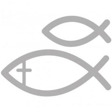 Spellbinders und Rayher Punzonatura e modello di goffratura: la comunione di pesce