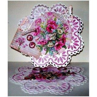 Bilder, 3D Bilder und ausgestanzte Teile usw... A4, ponsen plaat, Bloemen