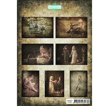 BILDER / PICTURES: Studio Light, Staf Wesenbeek, Willem Haenraets A4, Bilderbogen: Vintasia-serie bambini2