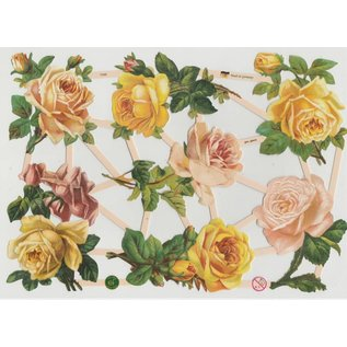Bilder, 3D Bilder und ausgestanzte Teile usw... A5, schroot: Roses