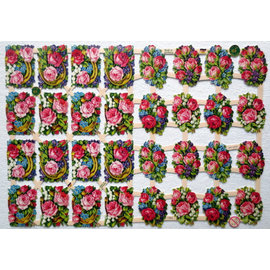BILDER / PICTURES: Studio Light, Staf Wesenbeek, Willem Haenraets A5, Glanzbilder mit Blumen