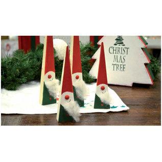 BASTELSETS / CRAFT KITS Bastelset completa para la decoración de Navidad