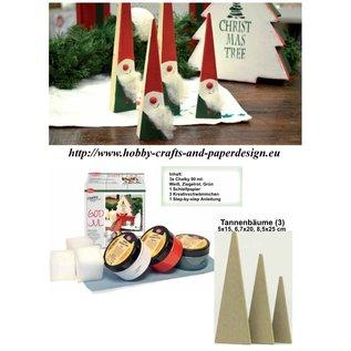 BASTELSETS / CRAFT KITS Complete Bastelset for Christmas decoration