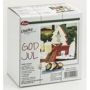 BASTELSETS / CRAFT KITS Komplett Bastelset for juledekorasjon