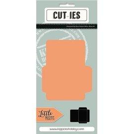 CUTIES Troquelado y estampado en relieve plantilla: Mini Envelope