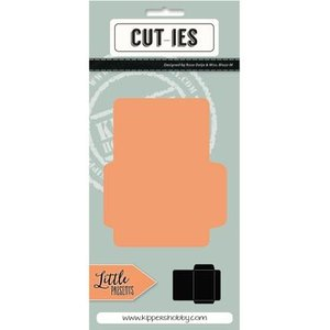 CUTIES Ponsen en embossing sjabloon: Mini Envelope
