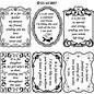 STICKER / AUTOCOLLANT Decoratief frame met de tekst in het Engels