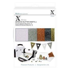 A5 Adhesive Glitter Sheets (10 piezas) Metallics