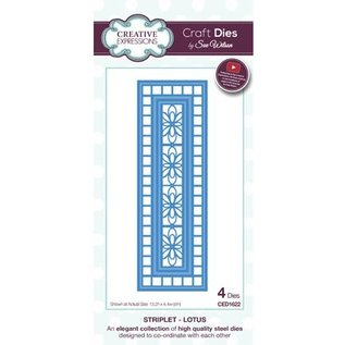 CREATIVE EXPRESSIONS und COUTURE CREATIONS Punching and embossing template: decorative frame
