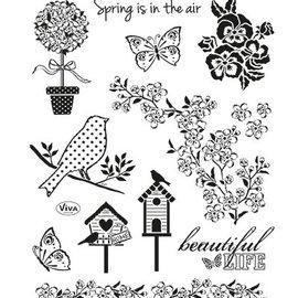 VIVA DEKOR (MY PAPERWORLD) Gennemsigtige frimærker, Nature