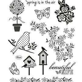 VIVA DEKOR (MY PAPERWORLD) Transparent stamps, Nature