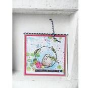 Marianne Design timbro trasparente: Birdy