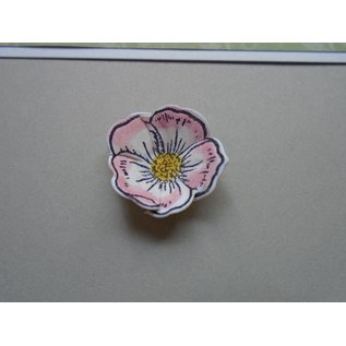 CREATIVE EXPRESSIONS und COUTURE CREATIONS Rubber stamps, Christmas Rose
