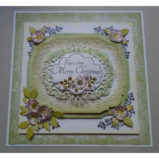 CREATIVE EXPRESSIONS und COUTURE CREATIONS Stempels, Christmas Rose