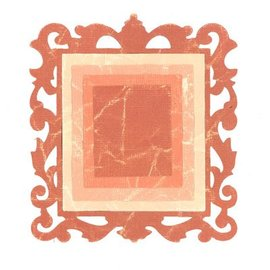 Sizzix Estampación y SET carpeta de grabación en relieve: 3 rectángulos y 1 marco decorativo
