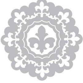 Sizzix Estampillage et dossier de gaufrage SET: 3 Ronde cadre décoratif