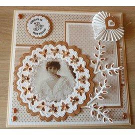 Nellie Snellen Cutting meurt: 6 cadre décoratif différent autour