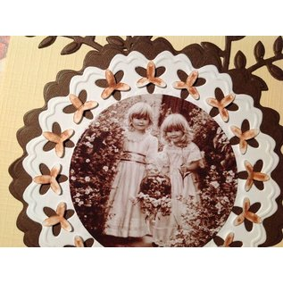 Nellie Snellen Cutting dies: 6 different decorative frame around