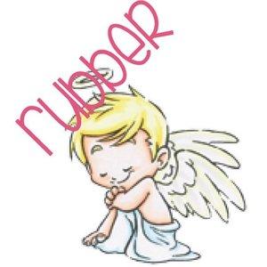 C.C.Designs Rubber stamp: Angel love