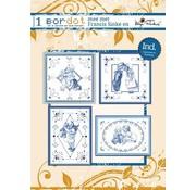 Bücher, Zeitschriften und CD / Magazines Hobby bog 8 broderimønstre: Delfsblue