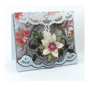 Marianne Design Stansning og prægning skabelon: Petras Flower skål