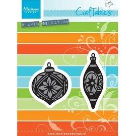 Marianne Design Punzonado y de la plantilla de estampado: Tiny adornos bolas
